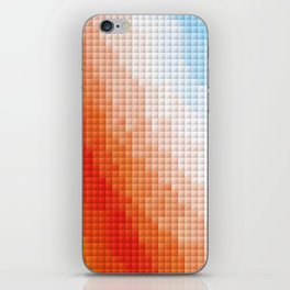 Square Color Space iPhone Skin