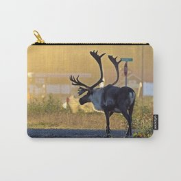 early morning caribou Carry-All Pouch