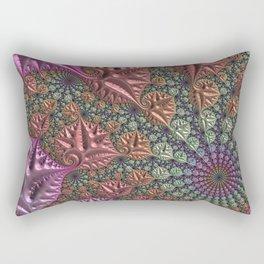 funky fractal Rectangular Pillow