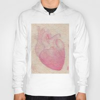 valentine Hoodies featuring Valentine by Soldiers in Petticoats Press