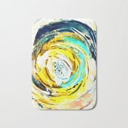 Yellow twister Bath Mat