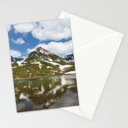Spring mountain landscape of Kamchatka Peninsula Stationery Cards