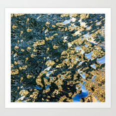 reflection abstract Art Print