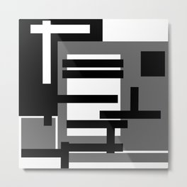 Trapped Metal Print