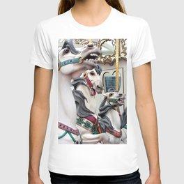 Carousel horses 02 T-shirt