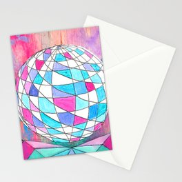 In Space. Stationery Cards