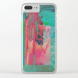 Geothermal Clear iPhone Case