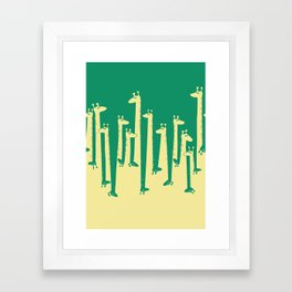 Such A Great Height Framed Art Print