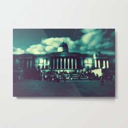 'At The Museum' by TDL Metal Print