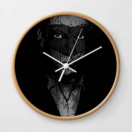 Father Hazard (Red Eyes) Wall Clock