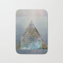 Perseid - Contemporary Geometric Pyramid Bath Mat