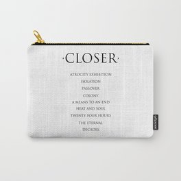 Closer Carry-All Pouch