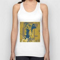 the strokes Tank Tops featuring Foot Strokes by Ron Jones The Artist