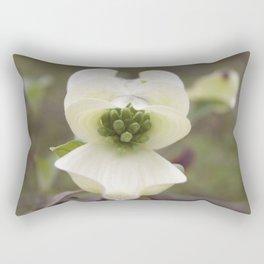 Budding Dogwood Bract Rectangular Pillow