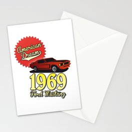 Ford Mustang 1969 Stationery Cards