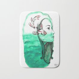Koi Feelings Bath Mat