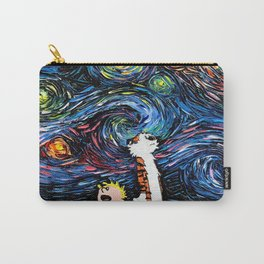 calvin hobbes stary night Carry-All Pouch