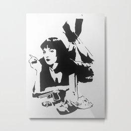 Mia Wallace Metal Print