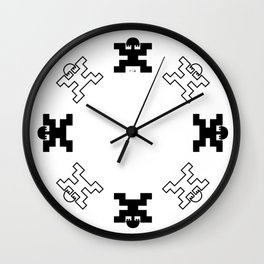 Pre-Columbian V Wall Clock