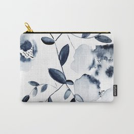 Indigo Water Painting Carry-All Pouch