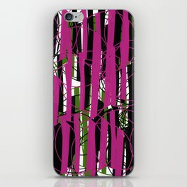 Wired Pink and Green from my Fall Collection iPhone Skin