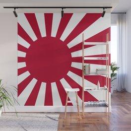 Japanese Flag Wall Mural