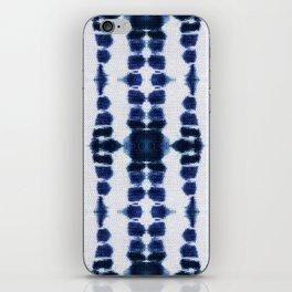 Boho Tie-Dye Knit Vertical iPhone Skin