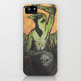Sparrow Necromancer iPhone Case