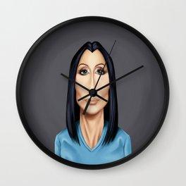 Celebrity Sunday ~ Cher(Cherilyn Sarkisian) Wall Clock