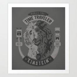 World's First Time Traveler Art Print