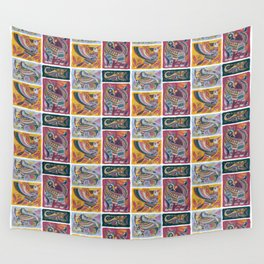 Alebrijes Animals - Natural Tint Wall Tapestry