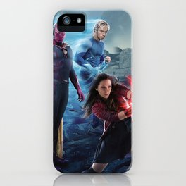 Scarlet Witch, Quicksilver, Vision, Ulton iPhone Case