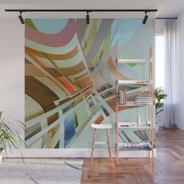 Abstract Composition 574 Wall Mural