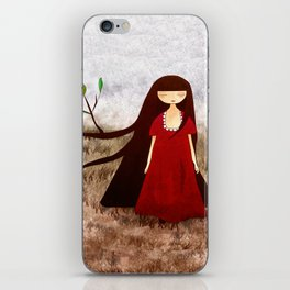 Branch Hair iPhone Skin