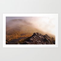 Hiking the Trail to Mt Arthur, New Zealand Art Print