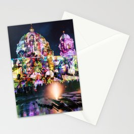 Berlin Cathedral of Lights Stationery Cards