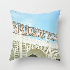 Brighton Lights Throw Pillow