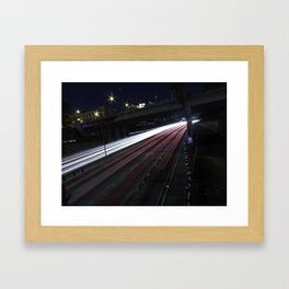 U.S. Route 101 Framed Art Print