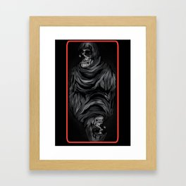 QUEEN OF SKULLS Framed Art Print