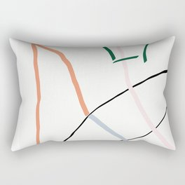 sunday's line character Rectangular Pillow