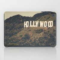 hollywood iPad Cases featuring Old Hollywood by CMcDonald