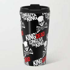 The King is dead. Long live the King. Travel Mug
