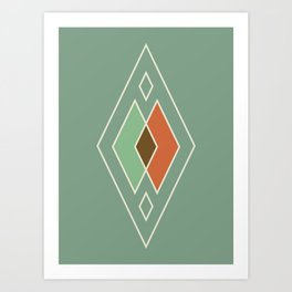 camp ivanhoe Art Print