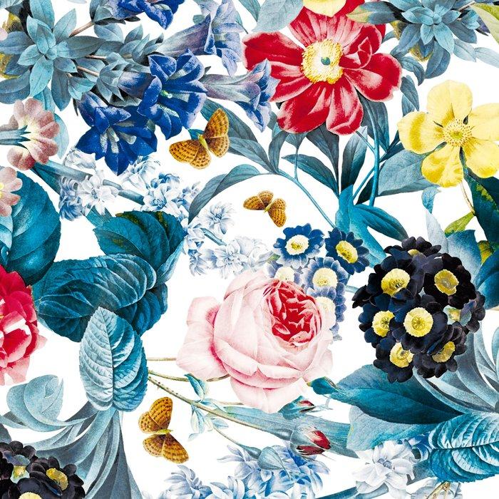 Spring-Summer Botanical Pattern Leggings
