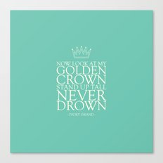 My Golden Crown Canvas Print