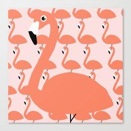 Flamingo Fever Canvas Print