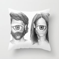 I love you even more than I did before... Throw Pillow
