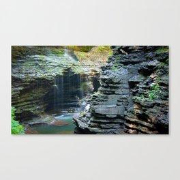 Rainy Glen Canvas Print