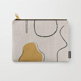 Minimalist Art, Line Art, Vase Art, Illustration Carry-All Pouch
