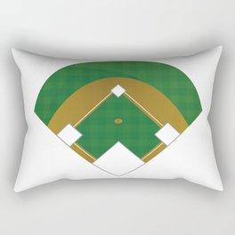 Baseball Illustration Rectangular Pillow